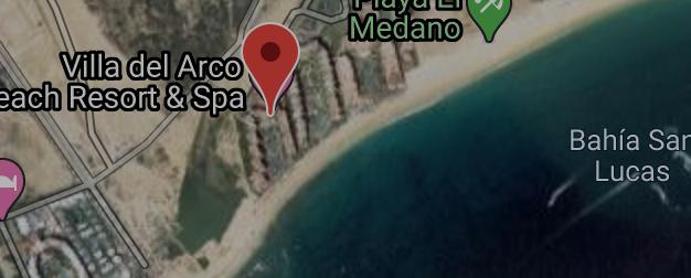 map view Villa del Arco resorts